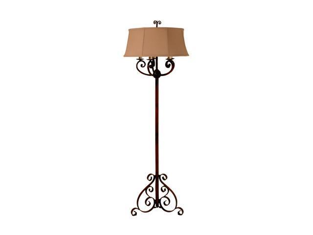 Uttermost Grace Feyock Edena floor lamp Red