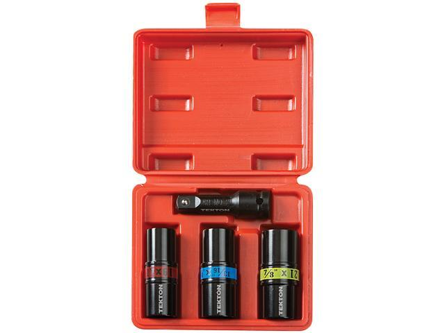 TEKTON  4950  4-pc. 1/2 in. Drive Impact Flip Socket Set