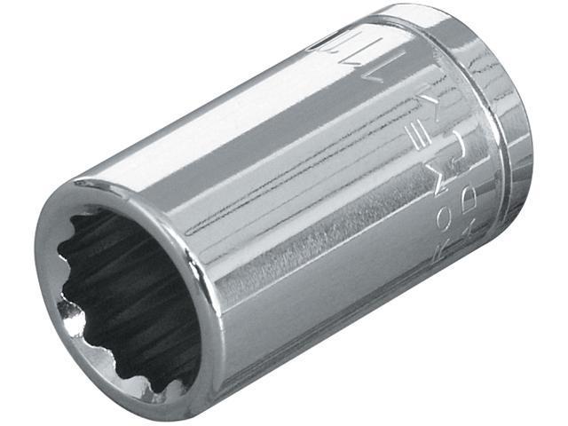 TEKTON 14167 3/8 in. Drive x 11mm Shallow Socket (12-Point)
