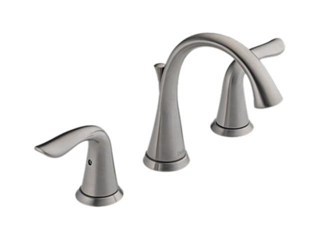 DELTA 3538LF-SS Lahara Two Handle Widespread Lavatory Faucet