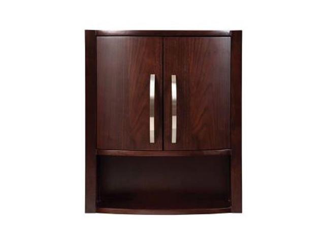 Decolav 5255-DWN Medicine Cabinet -Dark Walnut