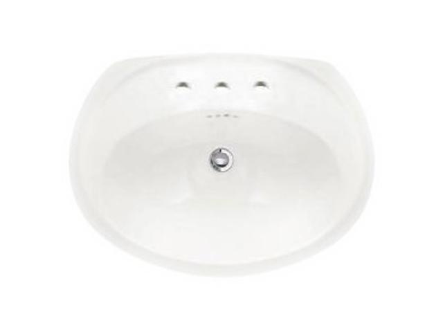 American Standard 0411.039.020 Ellisse Petite Countertop Sink