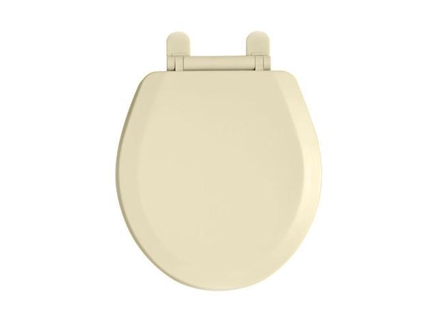 American Standard 5282.011.021 Cadet-3 Round Closed Front Toilet Seat & Lid with EverClean Technology in Bone Finish