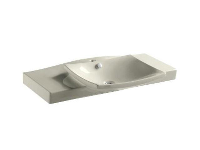 KOHLER K-19034-1-96 Escale Vanity Top And Basin With Single-hole Faucet Drilling