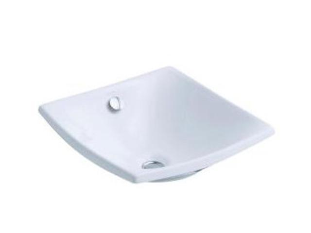 KOHLER K-19047-0 Escale Vessels Lavatory With Overflow