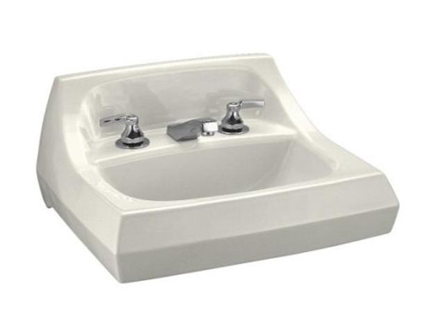 "Kohler K-2005-96 Kingston Wall-mount Lavatory With 4"" Centers"
