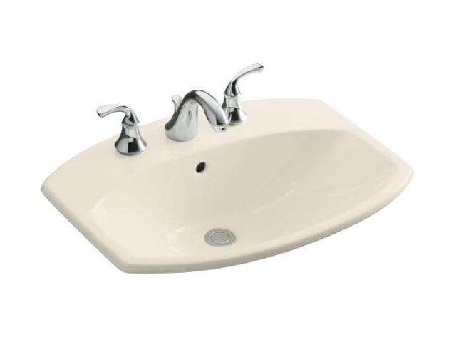"Kohler K-2351-8-47 Cimarron Self-rimming Lavatory With 8"" Centers"