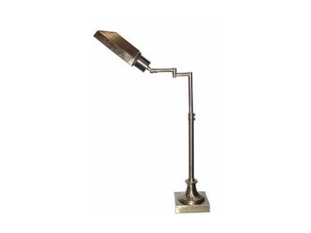 4D Concepts Victoria Swing Arm Task Lamp Antique Brass