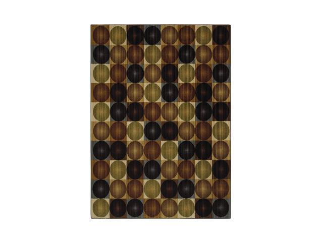 "Mohawk Home Canvas Keelan Earth Rug Brown 96""X120"" 10488 452 096120"