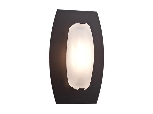 Access Lighting Nido Wall or Ceiling Fixture - 1 Light Oil Rubbed Bronze Finish w/ Frosted Glass