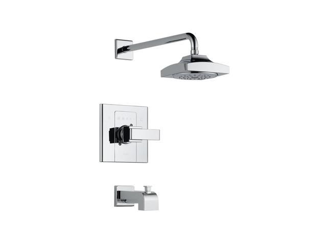 DELTA T14486 Arzo Monitor 14 Series Tub and Shower Trim Chrome