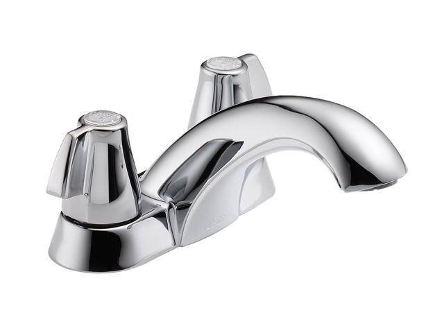 2Knob Lav Chrm Led Free DELTA FAUCET CO Delta Lavatory Double Handle 2500LF