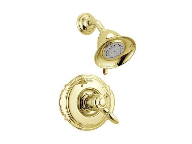 DELTA T17255-PB Victorian Monitor 17 Series Shower Trim Polished Brass
