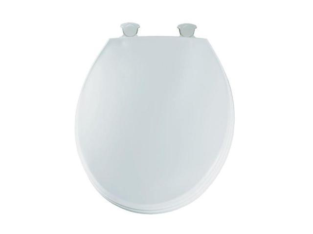 Bemis 3EC 000 Round Closed Front Toilet Seat White