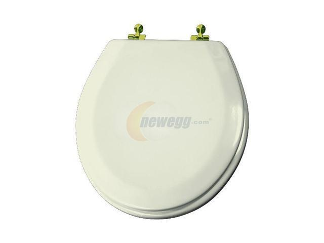 Bemis 540BR 346 Round Closed Front Toilet Seat Biscuit