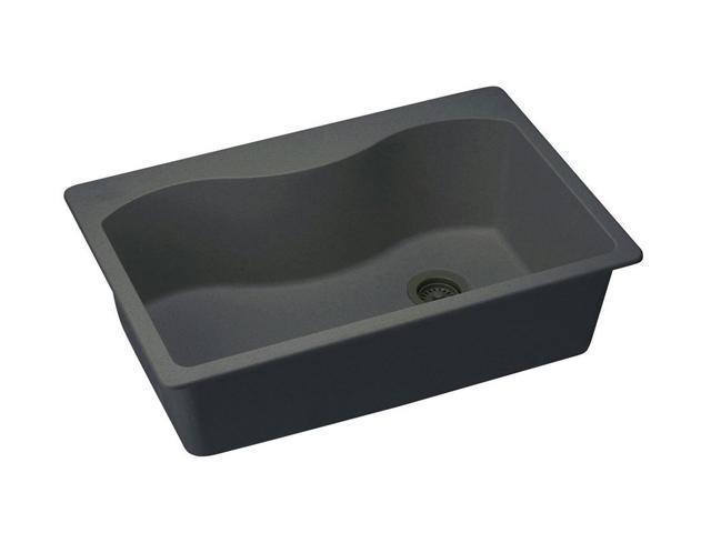 Elkay ELGS3322RBK0 Harmony e-granite Sink