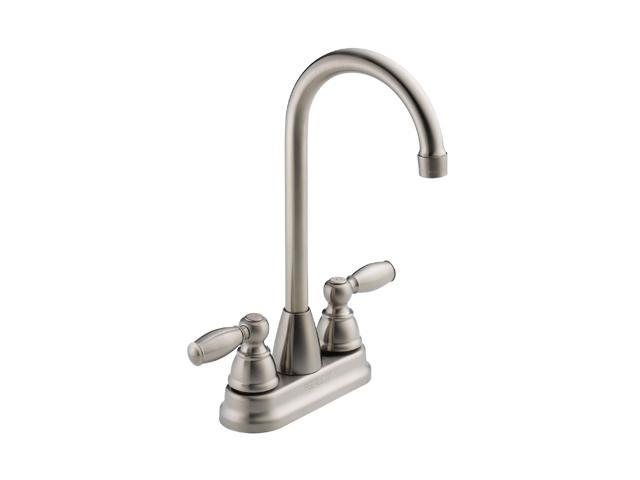 PEERLESS P290LF-SS Two Handle Bar-Prep Faucet Stainless Steel