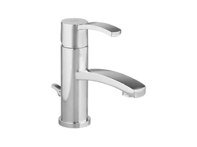 American Standard 7430.101.295 Single Hole Berwick Single Control Monoblock Lavatory Faucet Satin Nickel