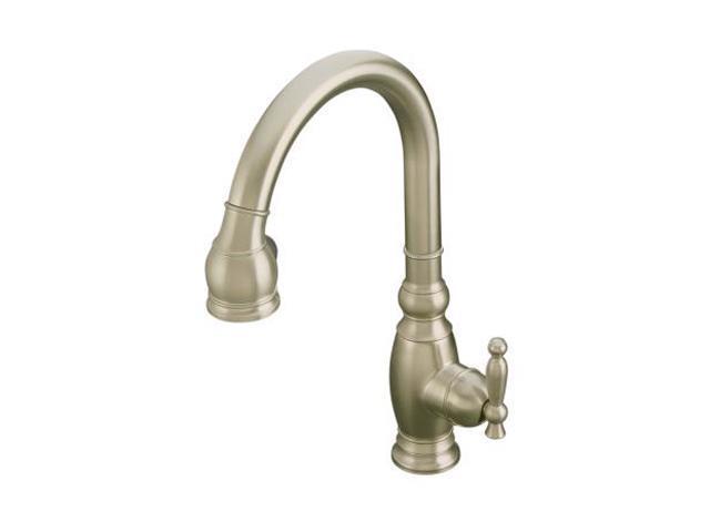 kohler k 690 bn vinnata kitchen sink faucet brushed nickel