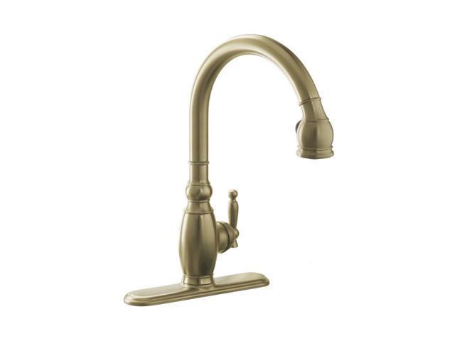 Kohler K 690 Bv Vinnata Kitchen Sink Faucet Brushed Bronze Kitchen Faucet