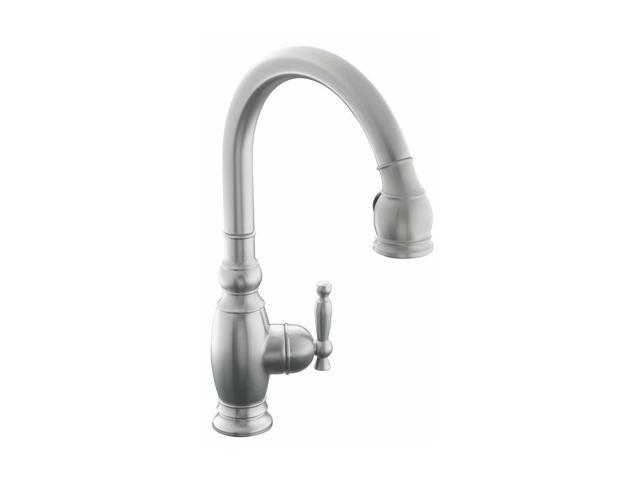 Kohler K 690 Vs Vinnata Kitchen Sink Faucet Stainless Kitchen Faucet