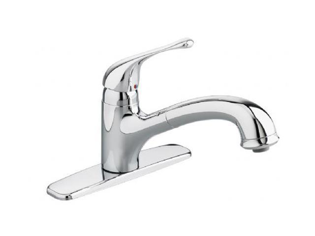 American Standard 4175.100.002 Colony Soft Pull-Out Kitchen Faucet Polished Chrome