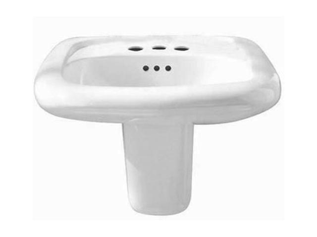 American Standard 0955.021.020 Murro Wall-Mount Sink