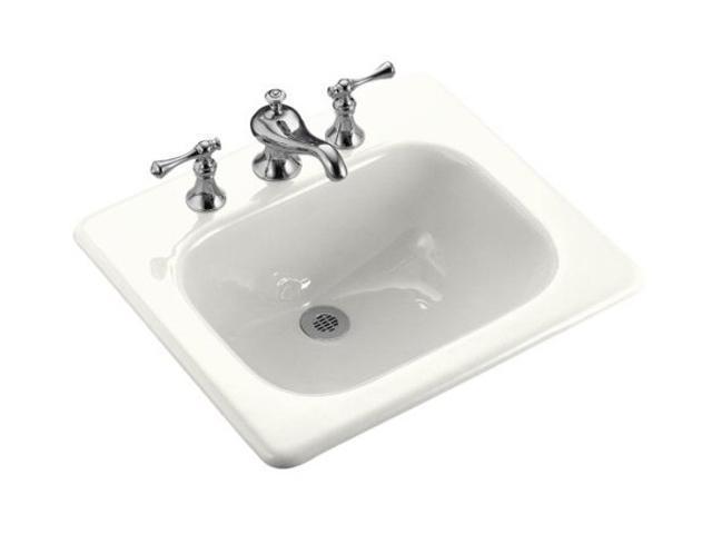KOHLER K-2895-4-0 Tahoe self-rimming lavatory
