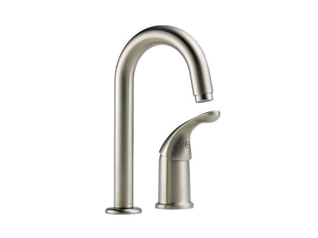 Delta 1903-SS-DST Waterfall Single-Handle Bar Faucet in Stainless Steel