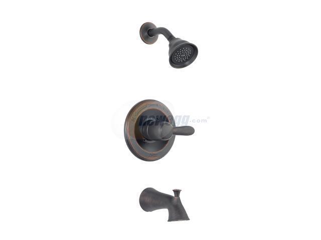 DELTA T14438-RB Venetian Bronze Lahara Monitor 14 Series Tub and Shower Trim