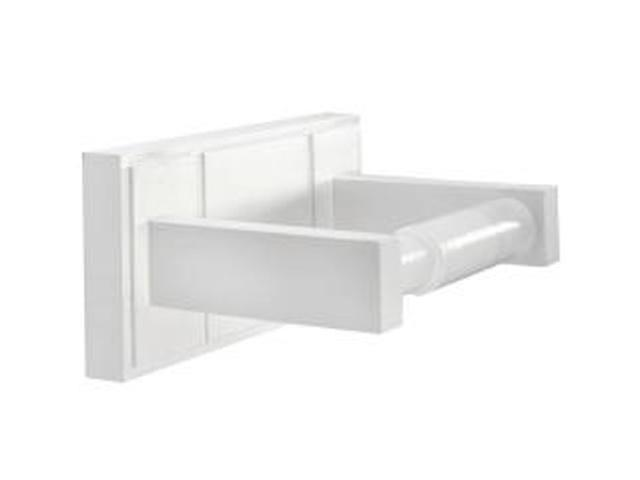 Croydex WA971122YW Maine Toilet Roll Holder White Wood