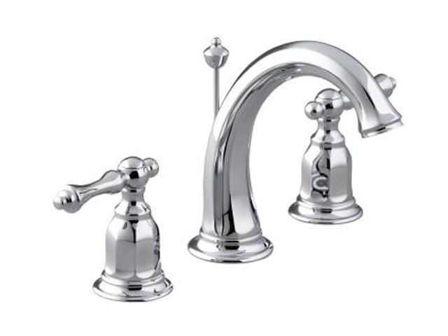 KOHLER K-13491-4-CP Kelston Widespread Lavatory Faucet