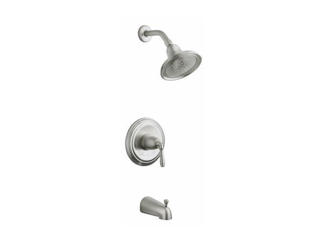 KOHLER K-T395-4-BN Devonshire Rite-temp Pressure-balancing Bath and Shower Faucet Trim