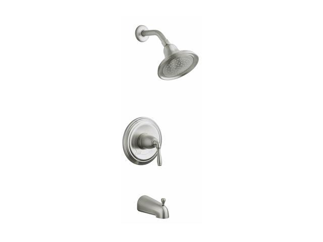 KOHLER K-T395-4S-BN Devonshire Rite-temp Pressure-balancing Bath and Shower Faucet Trim