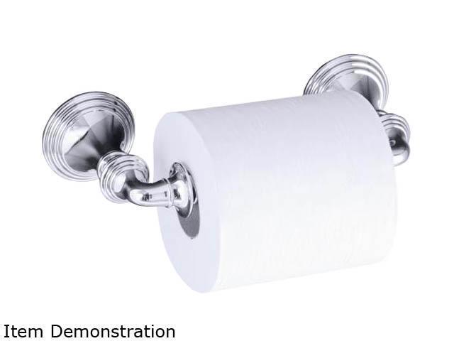 KOHLER K-10554-CP Devonshire Toilet Tissue Holder, Double Post