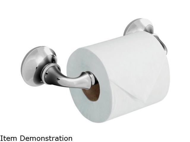 KOHLER K-11374-CP Forte Sculpted Toilet Tissue Holder