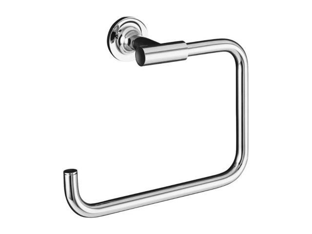 KOHLER K-14441-CP Purist Towel Ring