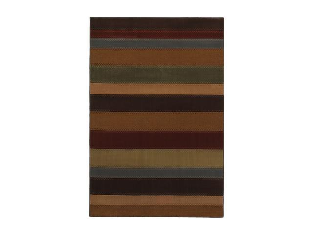 "Mohawk Home Guilford Ellsworth Rug Brown 94"" x 63"" x 0.394"" 9514 86007 063094"