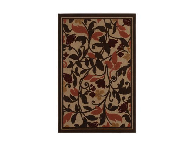 "Mohawk Home Terrace Westbrooke Rug Brown 84"" x 60"" x 0.197"" 9776 80043 060084"