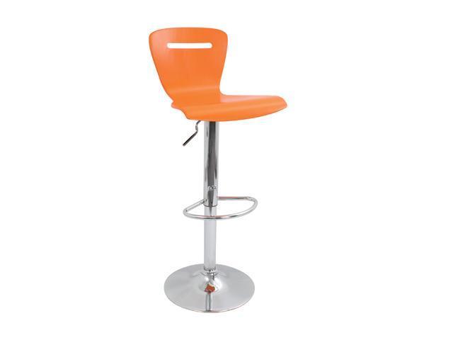 LumiSource H2 Bar Stool Orange