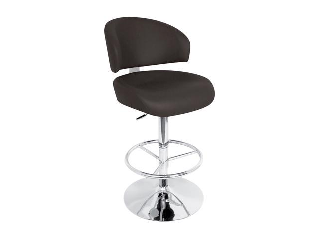 LumiSource Regent Bar Stool Black