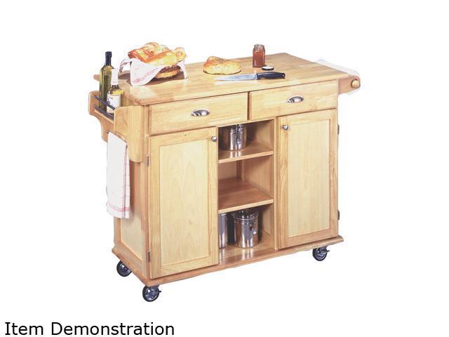Home Styles 5099-95 Natural Napa Kitchen Cart