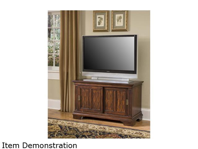 Home Styles Windsor 5541-09 Transitional Cherry TV Stand