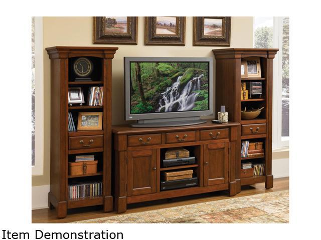 Home Styles Aspen 5520-34 Rustic Cherry 3PC Entertainment Center