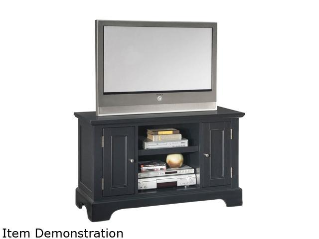 Home Styles Bedford 5531-09 Transitional Black TV Stand