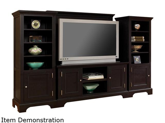 Home Styles Bedford 5531-44 Transitional Black 4PC Entertainment Center