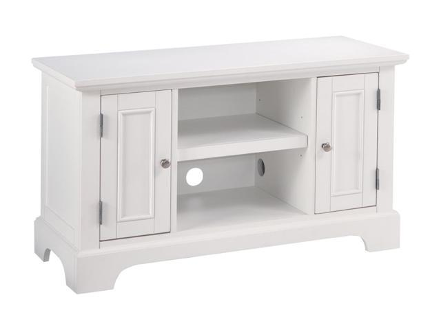 Home Styles Naples 5530-09 White TV Stand