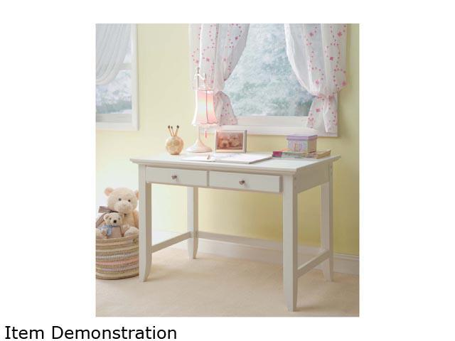 Home Styles 5530-16 Naples White Student Desk