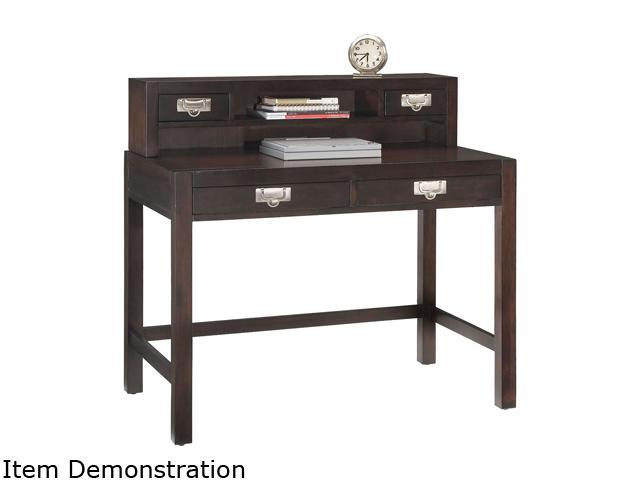 Home Styles 5536-162 City Chic Espresso Student Desk & Hutch