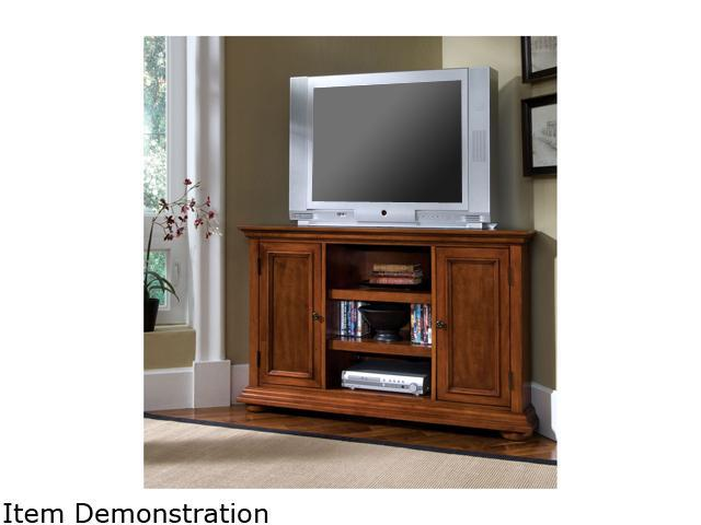 Home Styles Homestead 5527-07 Traditional Corner TV Stand